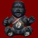 Guman Ajahn Kom Front Thai Buddhist Amulets