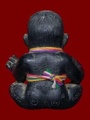 Guman Ajahn Kom back Thai Buddhist Amulets