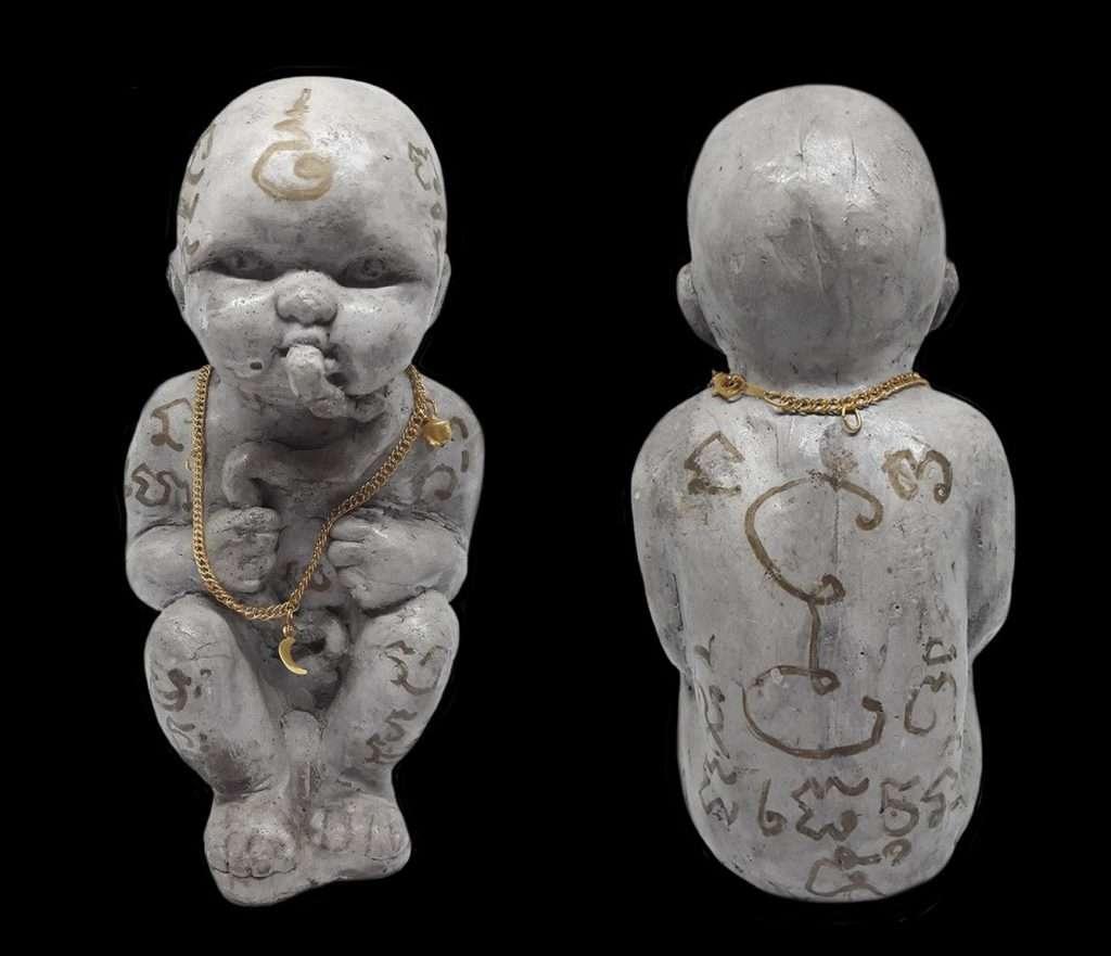 Pra Ajahn Amnaat Guman 5th batch Thai Buddhist Amulets