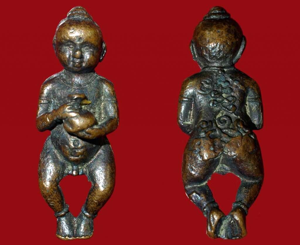 Guman Thong Luang Phor Kuay Thai Buddhist Amulets