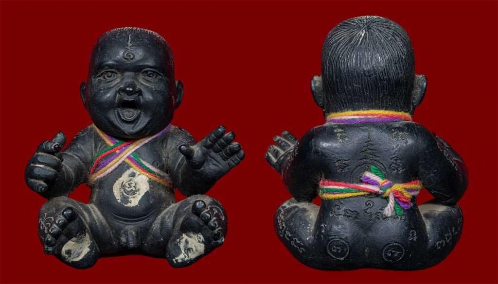 Guman Ajahn Kom Thai Buddhist Amulets