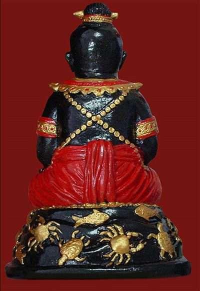 Guman Thong LP Pian Back Thai Buddhist Amulets