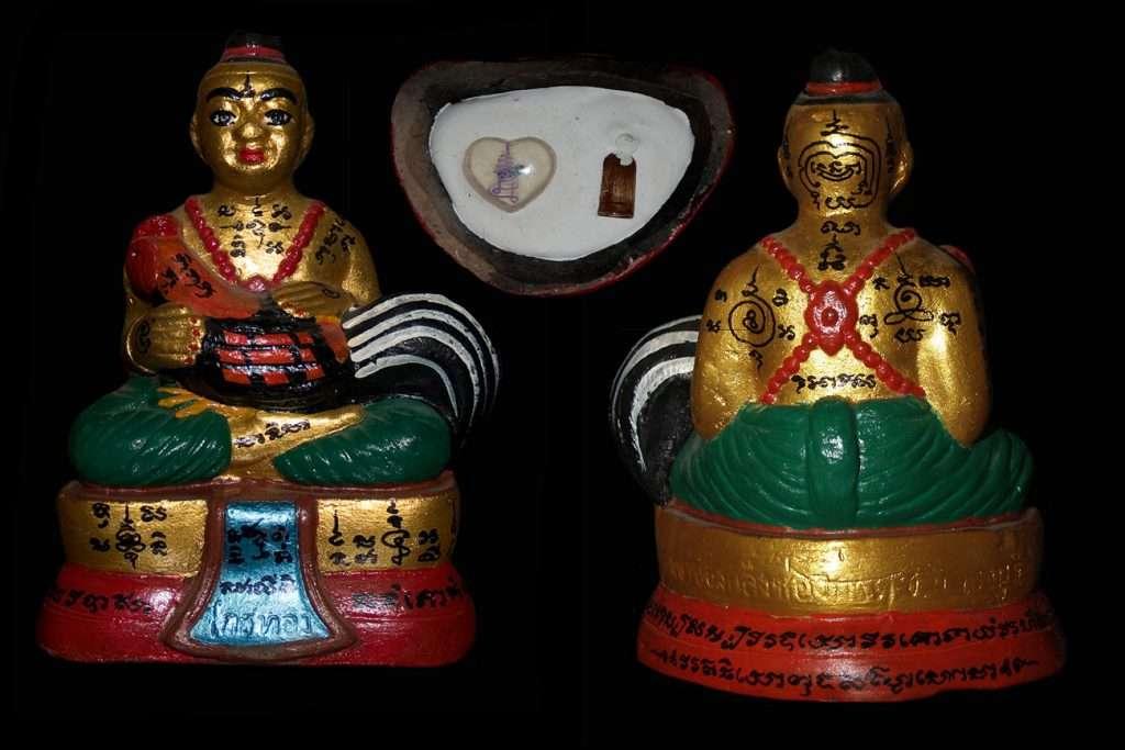 Guman Thong Um gai Thai Buddhist Amulets