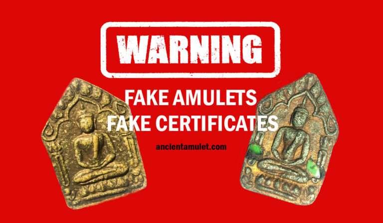 Fake Thai Amulets
